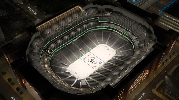 dallas stars virtual venue by iomedia